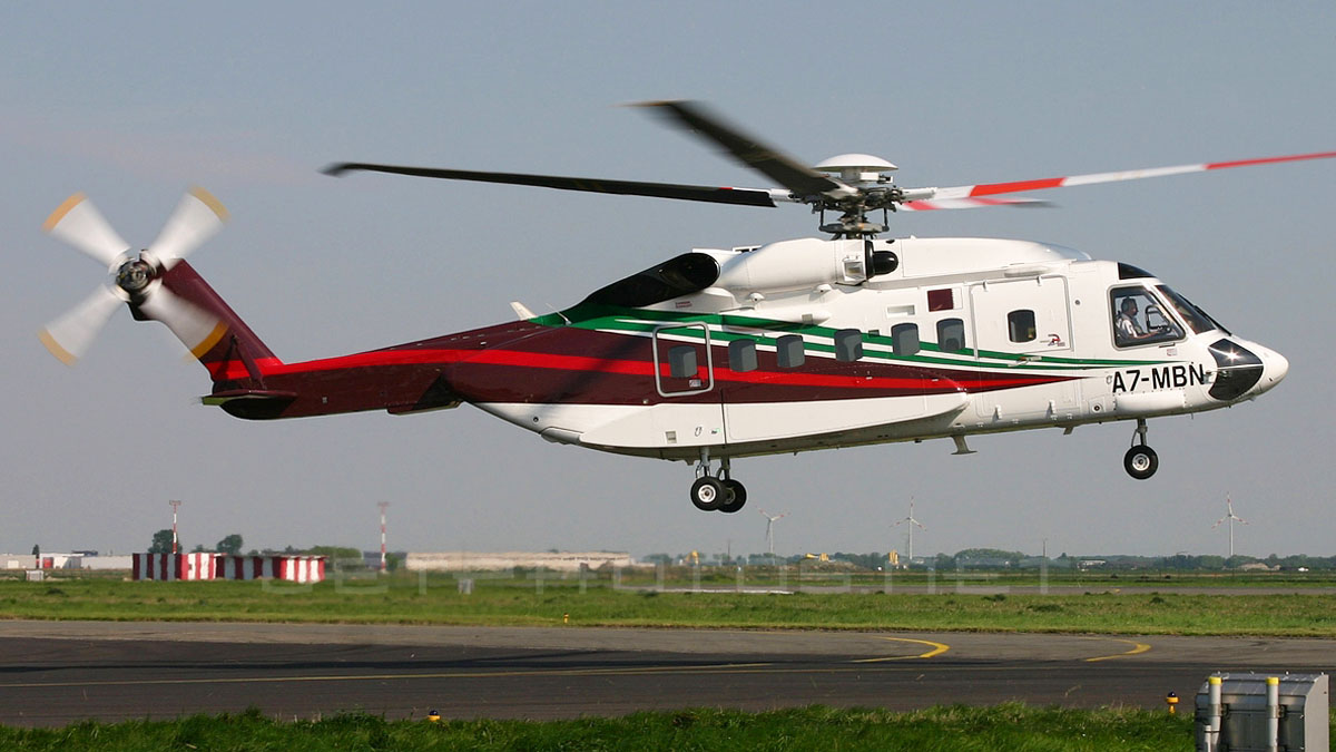 Elicottero S 92 : Aircraft review sikorsky s by dmo flight design