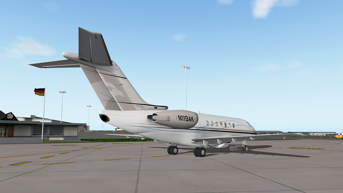 Hawker 4000 xp11 | RWDesigns Hawker 4000 with Better