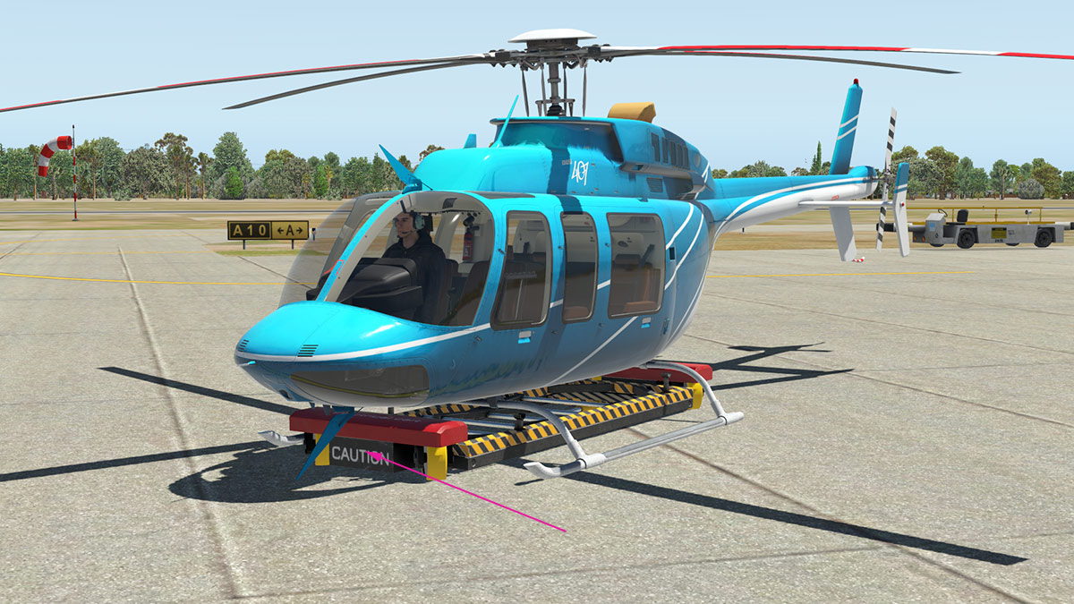 Helicopter for xp 11