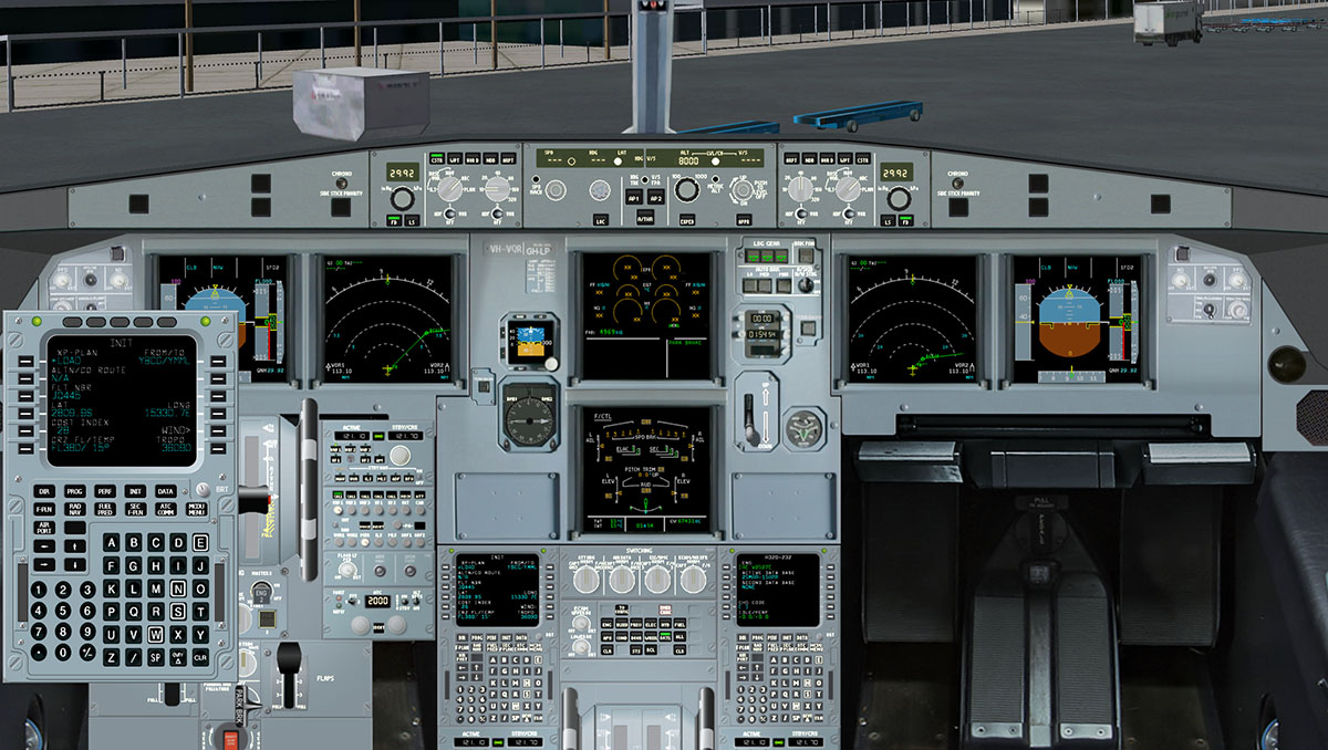 A330 mcdu ipad