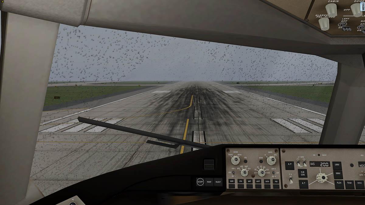 Flight Factor Upcoming Boeing 757 Rain And Window Shade