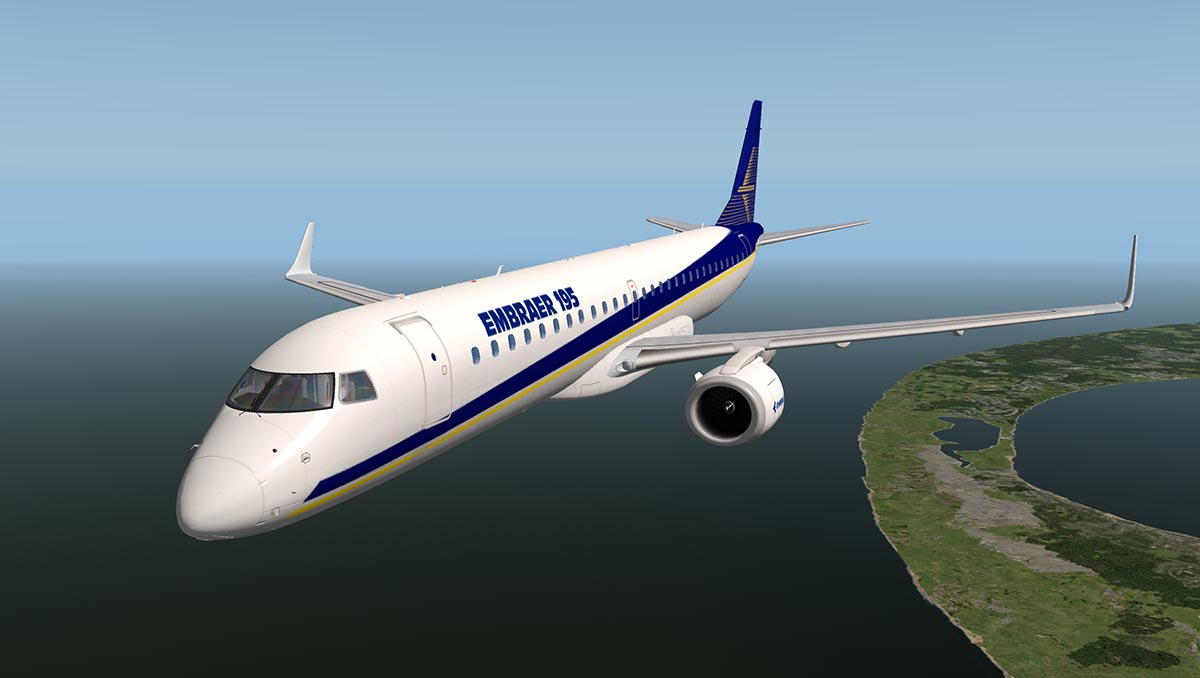 Aircraft Review : Embraer ERJ 195 LR by X-Crafts - Airliners