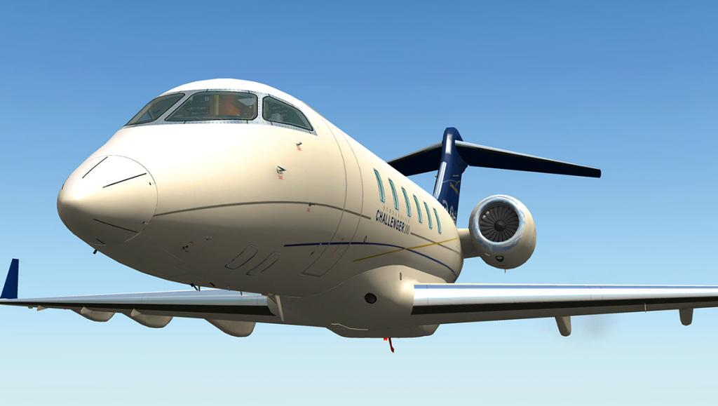 Aircraft Review : Bombardier Challenger 300 by Dden Design