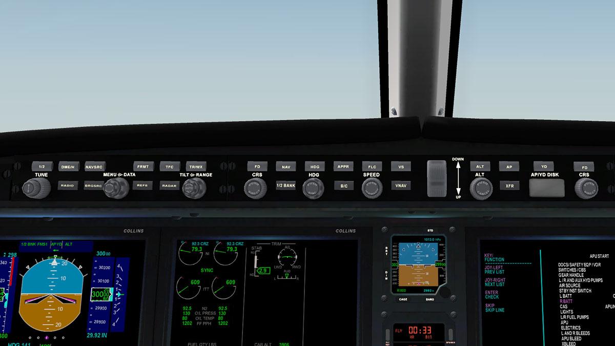 Aircraft flight manual bombardier