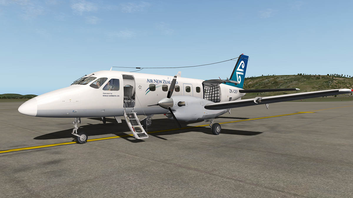 Aircraft Review - Embraer EMB -110 Bandeirante by Dreamfoil Creations