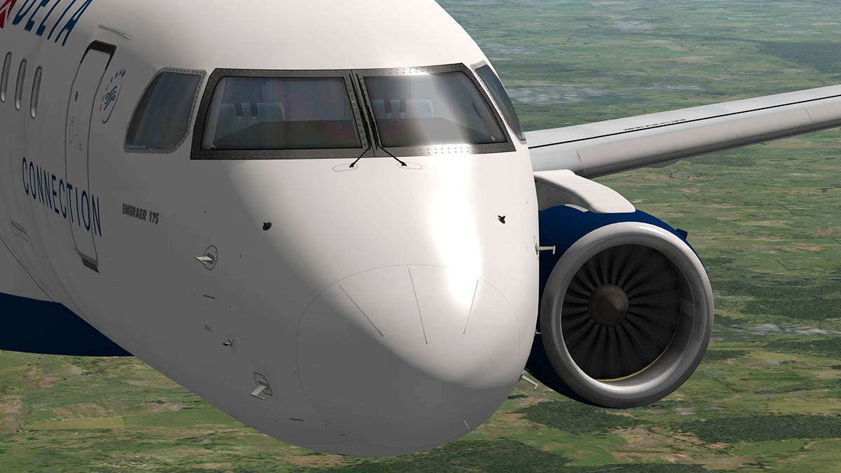 X Plane 11 Embraer 175