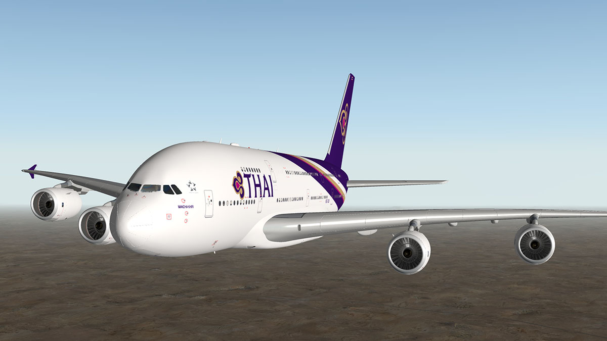 News! - Updated - Peters Aircraft Airbus A380 and A320