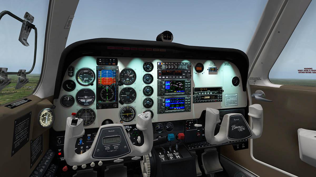 Carenado Bonanza A36 Manual Transfer