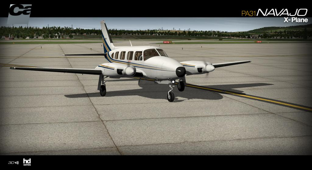 News! - Aircraft Release! - PA31 Navajo HD Series from