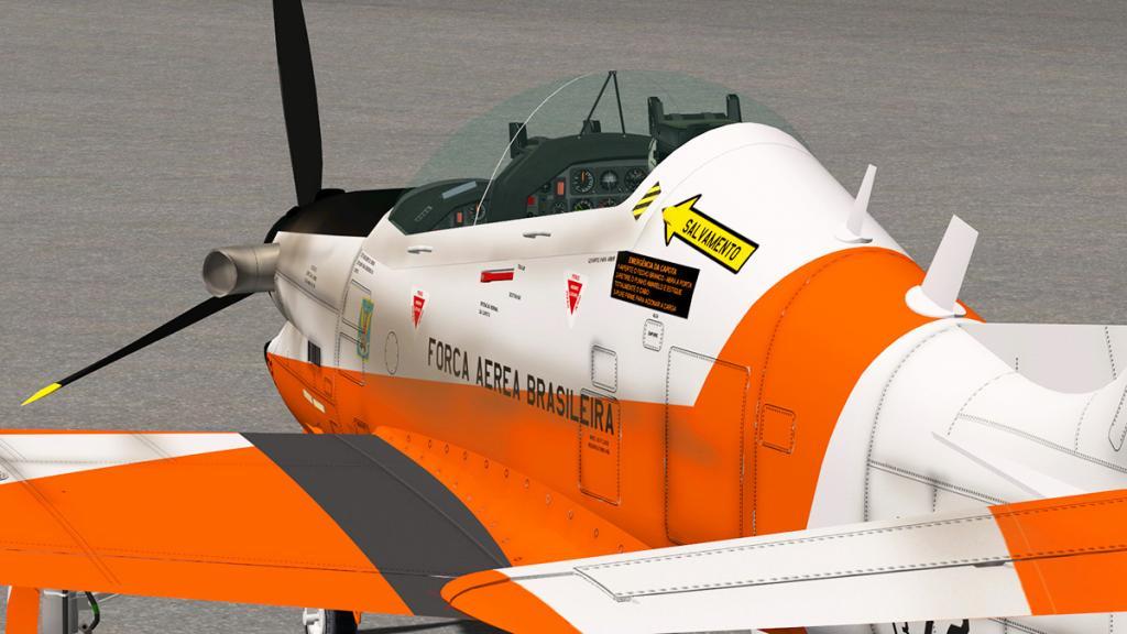 Aircraft Review : Embraer AT-27 Tucano by BFDG - Military
