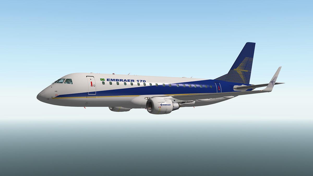 News! - Free payware - Embraer E-170 E-Jet by SSG - News