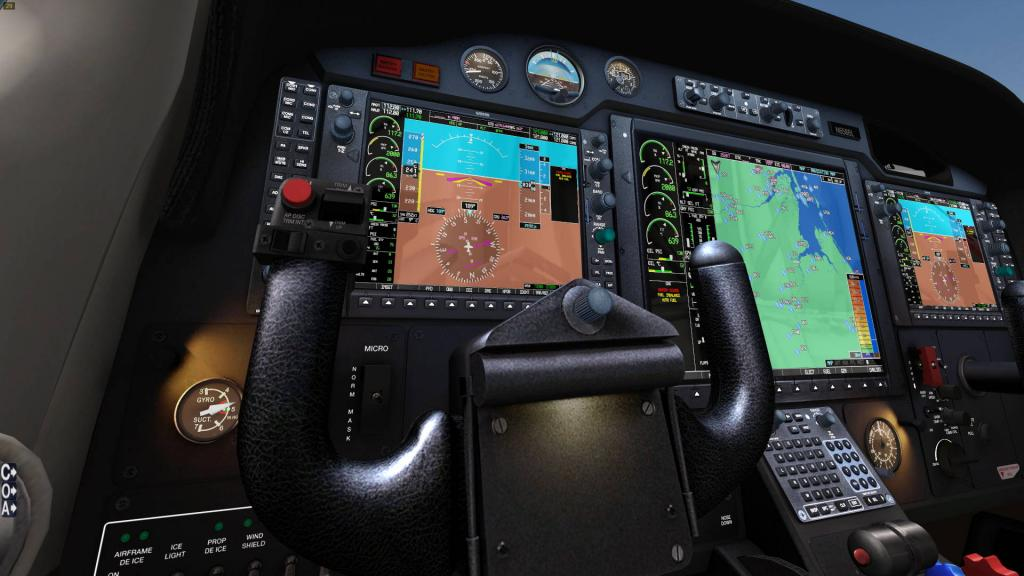 News! - Aircraft Update : G1000 system update by Carenado/Alabeo