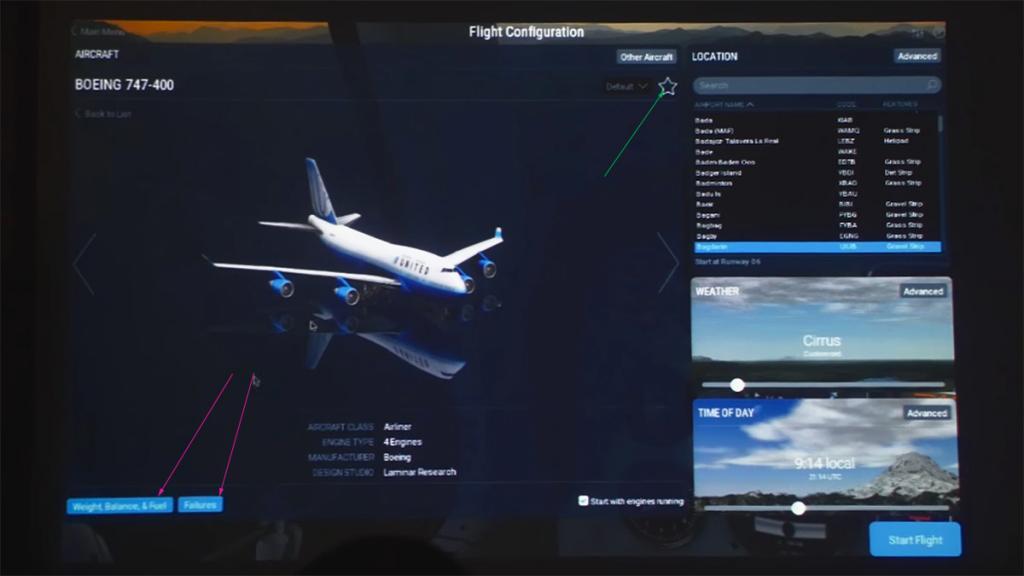 X-Plane-11_Startup menus and fav.jpg