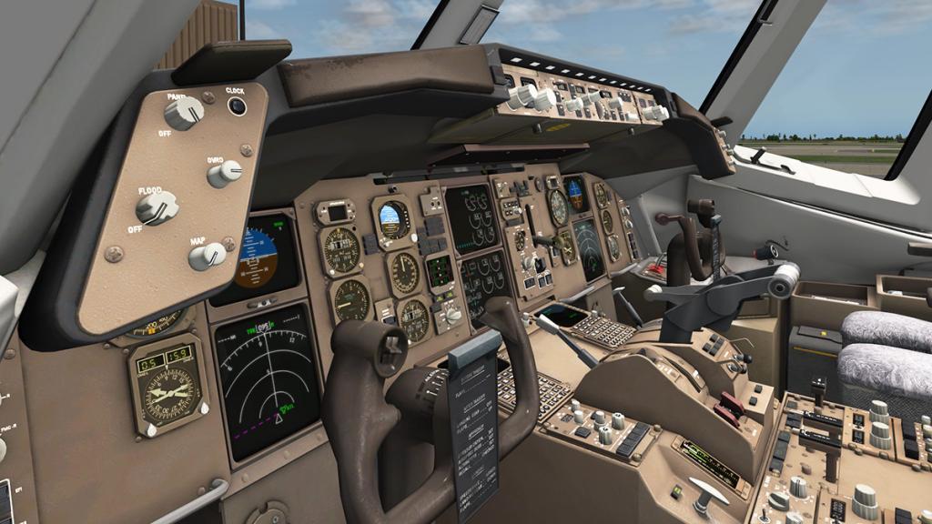 737 Zibo Steering