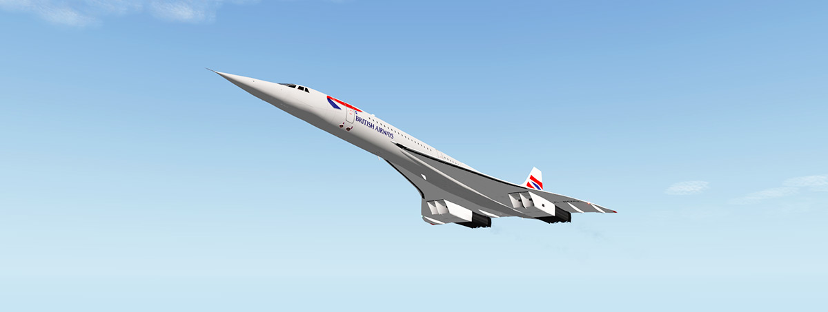 Free Aircraft Release! : Concorde by Dr Gary Hunter - Freeware