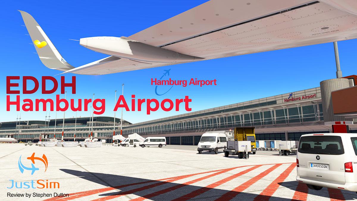 Scenery Review : EDDH Hamburg Airport by JustSim - Payware
