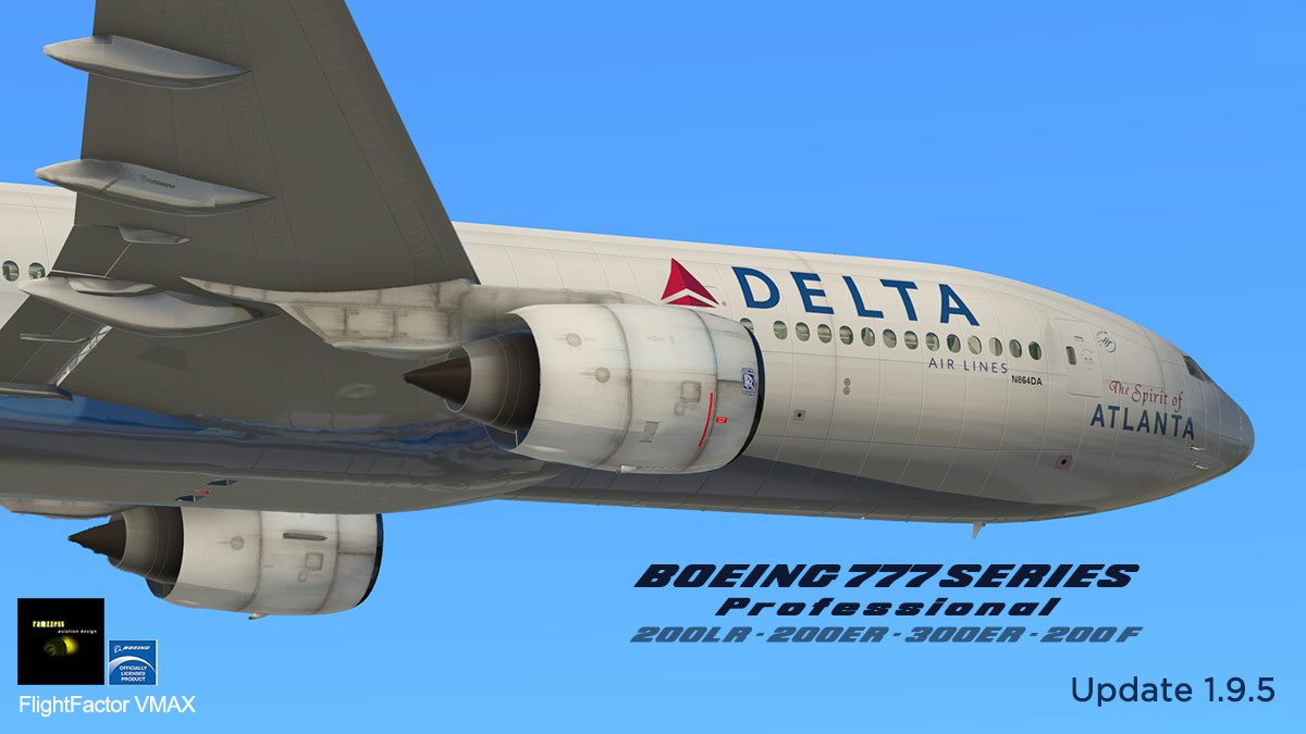 Aircraft Update : Boeing 777 Worldliner Pro 1 9 5 by FlightFactor
