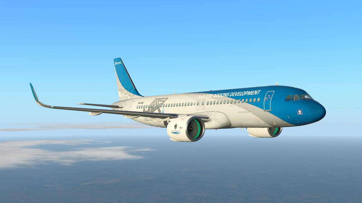 Airbus A320neo x Plane