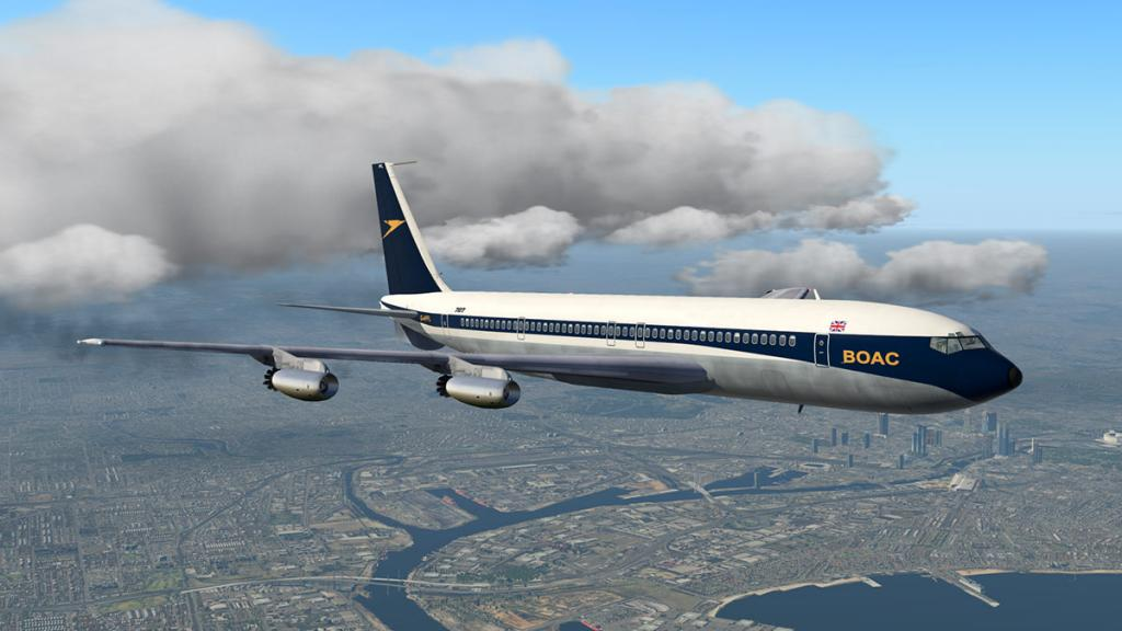 Aircraft Review : Boeing 707-420 by Wilson's Aircraft - Classic