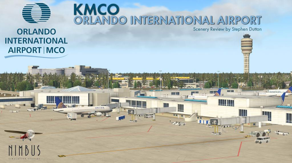 Scenery Review : KMCO - Orlando International by Nimbus
