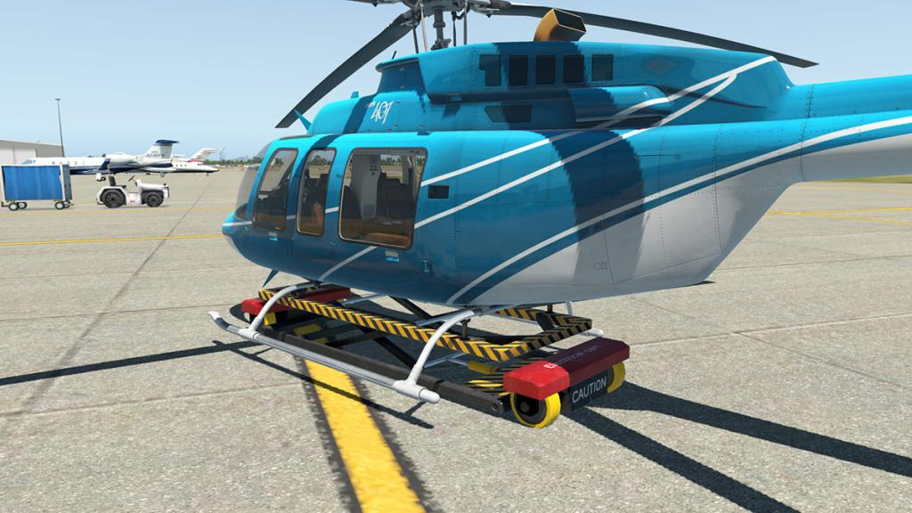 X Plane Cirrus Jet Manual Trolley - livintraining