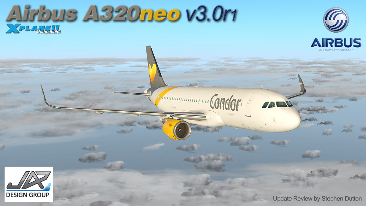 Aircraft Update : Airbus A320neo v3 0r1 by JARDesign - Airliners