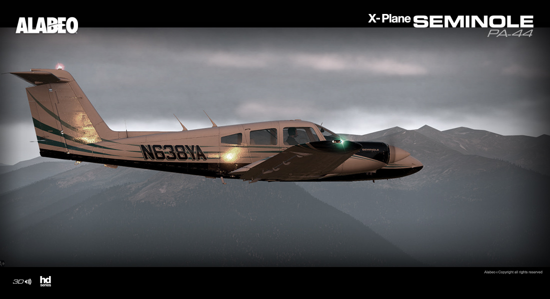 News! - Aircraft Release - PA-44 Seminole by Alabeo - News