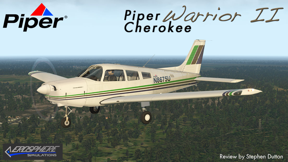 Aircraft Review - Piper PA28 -161 Warrior II by AeroSphere