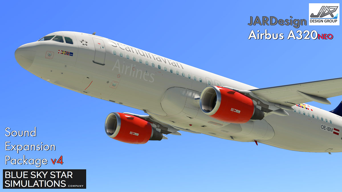 Sound Update : BSS v4 for JARDesign A320NEO - Airliners Reviews - X