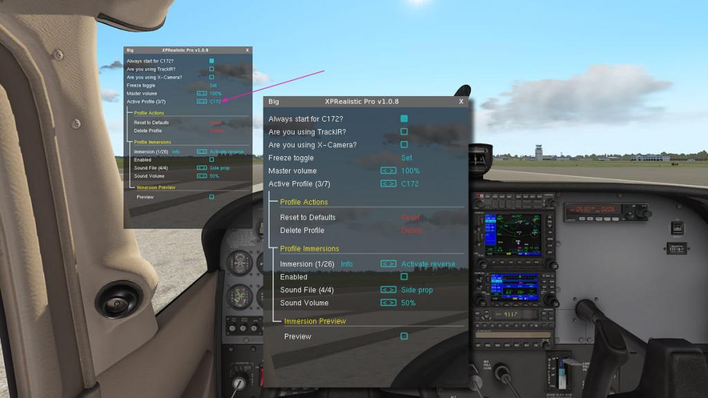 XPReal aircraft menu.jpg
