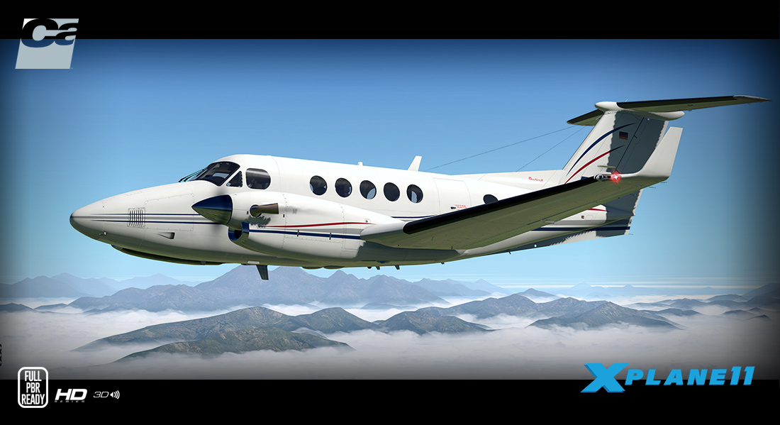 News! - Aircraft Upgraded to XP11 : B200 King Air HD Series by