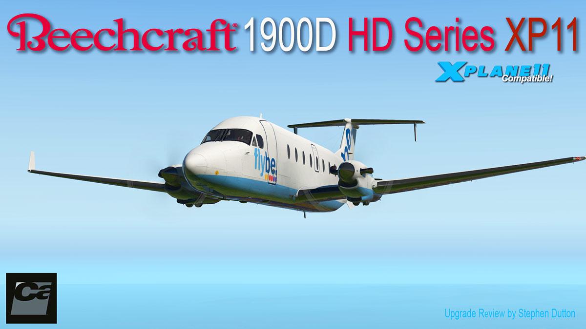 Aircraft Upgrade : Beechcraft 1900D HD XP11 by Carenado