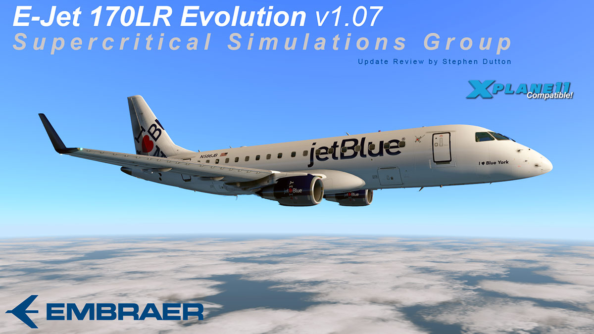 Aircraft Update : Embraer E-170 v1 07 by SSG - Airliners