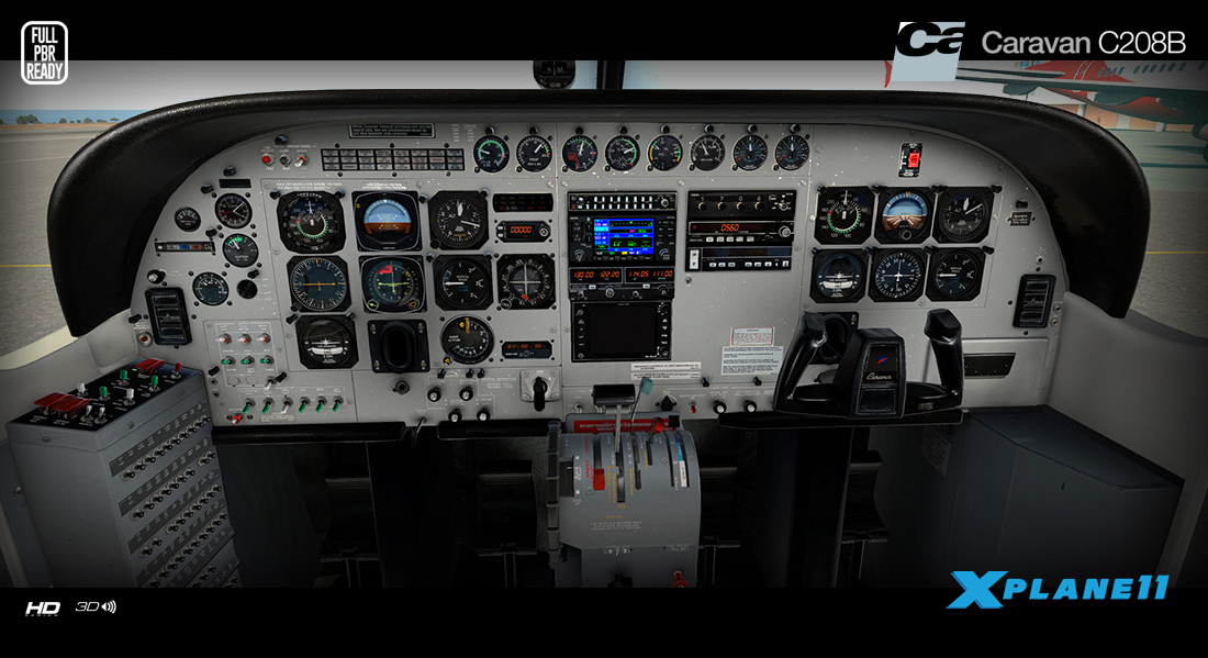 News! - Aircraft Upgraded to XP11 : 208 Grand Caravan HD Series by