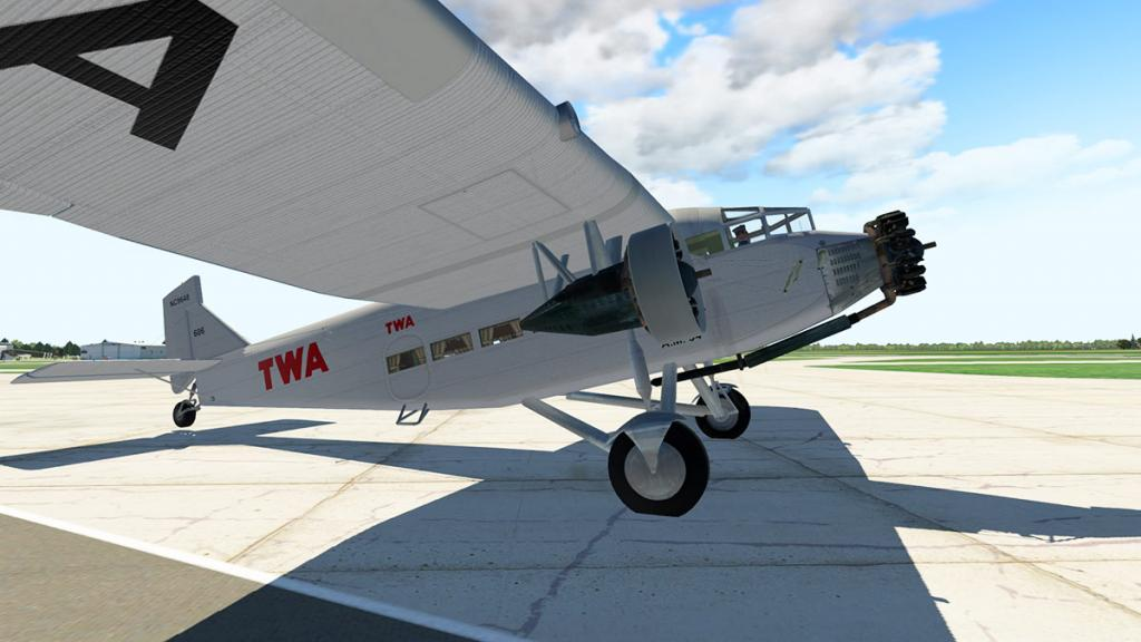 Aircraft Review : Ford Tri-Motor 5-AT by Ted Cook