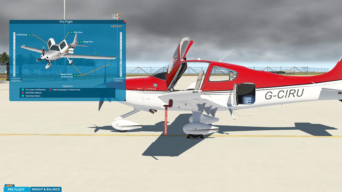 Aircraft Review Update To X Plane11 Cirrus Sr20 G1000 V25 By Wiring Diagram Cirrussr22 Xp11 Menu 7 8
