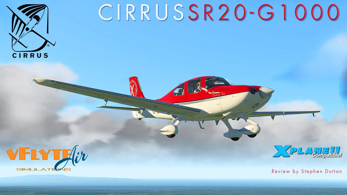Aircraft Review Update to X-Plane11 : Cirrus SR20 G1000 v2 5