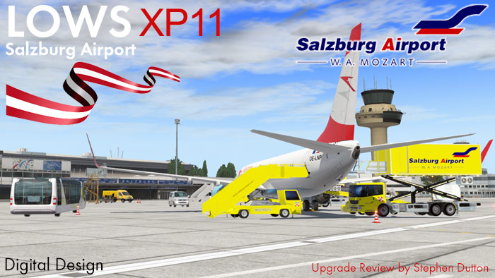 Scenery Upgrade to XP11 : LOWS-Salzburg XP11 by JustSim