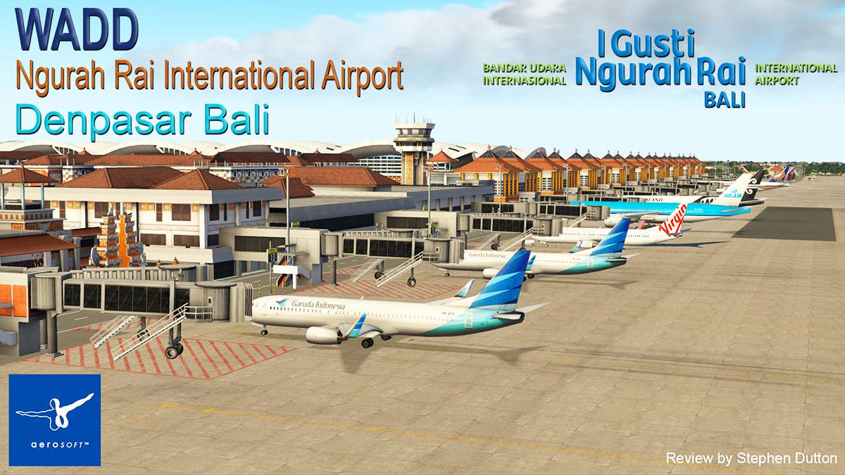 Aeroporto Bali : Scenery review wadd ngurah rai international airport bali by