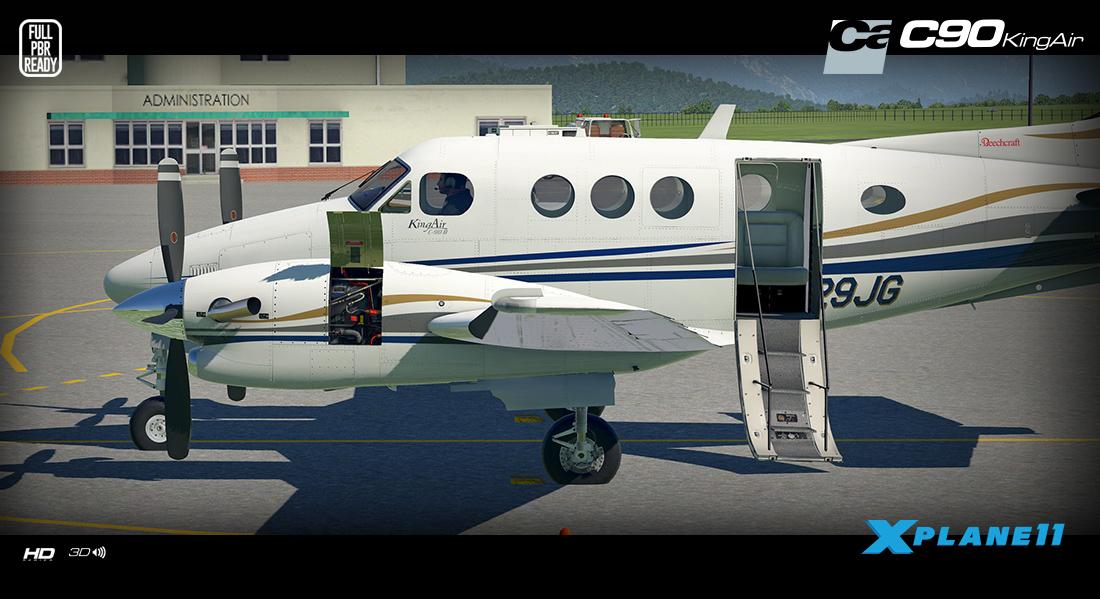News! - Aircraft Upgraded to XP11 : C90 King Air HD Series