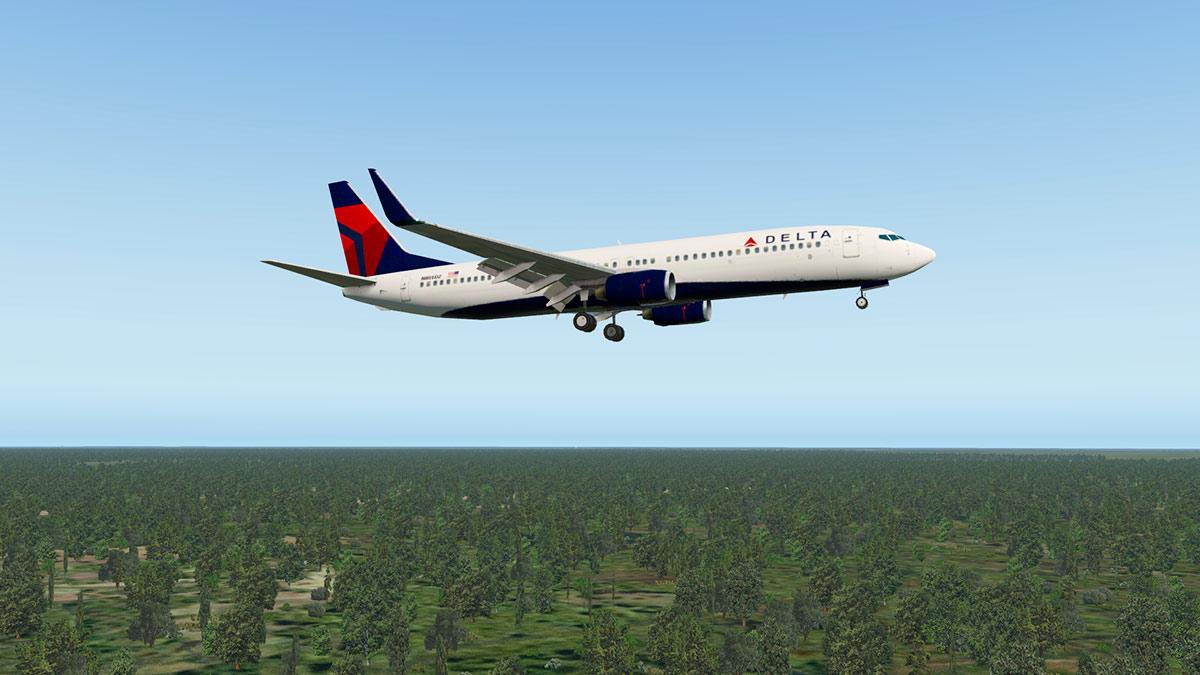 Zibo 737 Turning Radius
