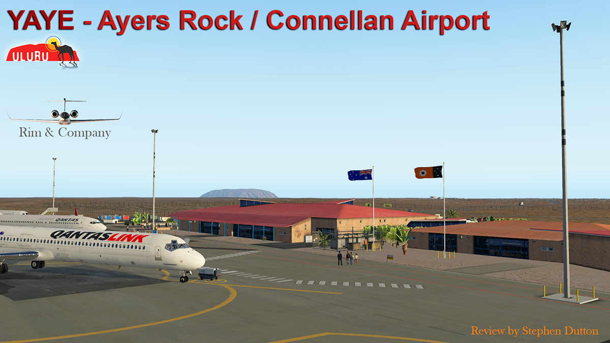 Scenery Review : YAYE - Ayres Rock - Connellan Airport by
