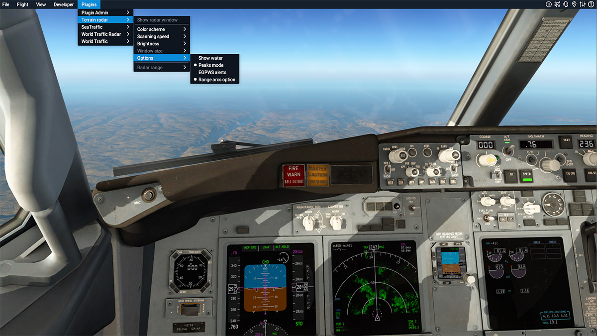 Plugin Review : TerrainRadar by DrGluck - X-Plane Plugins and