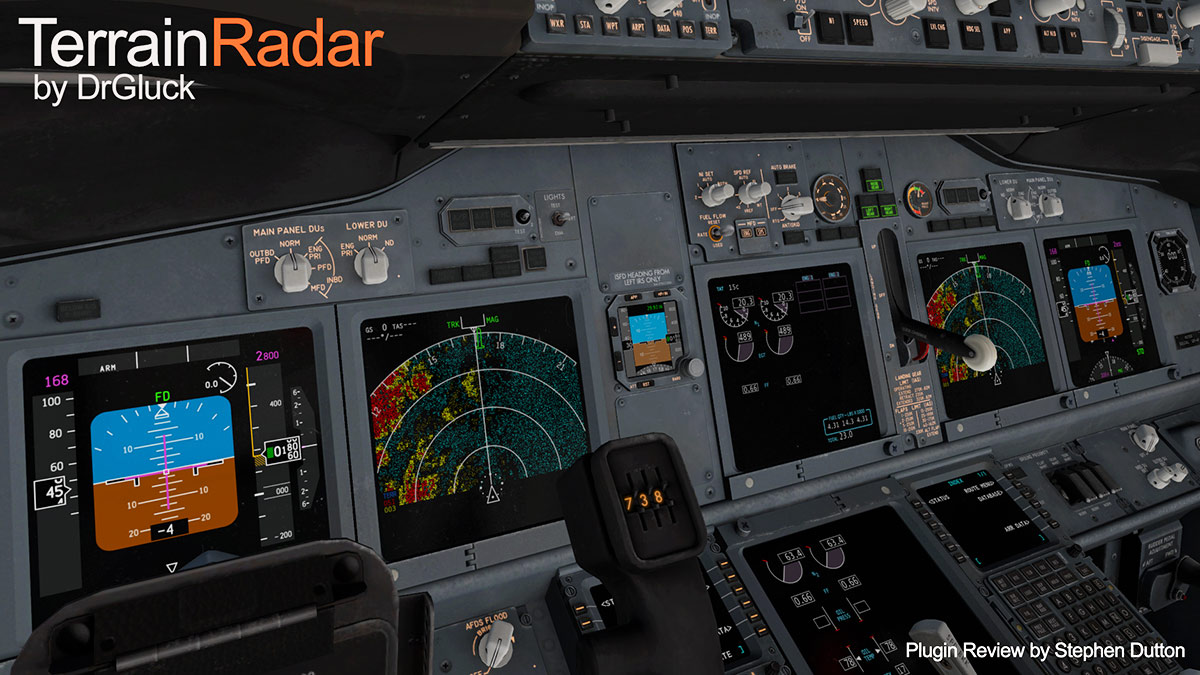 Plugin Review : TerrainRadar by DrGluck - X-Plane Plugins