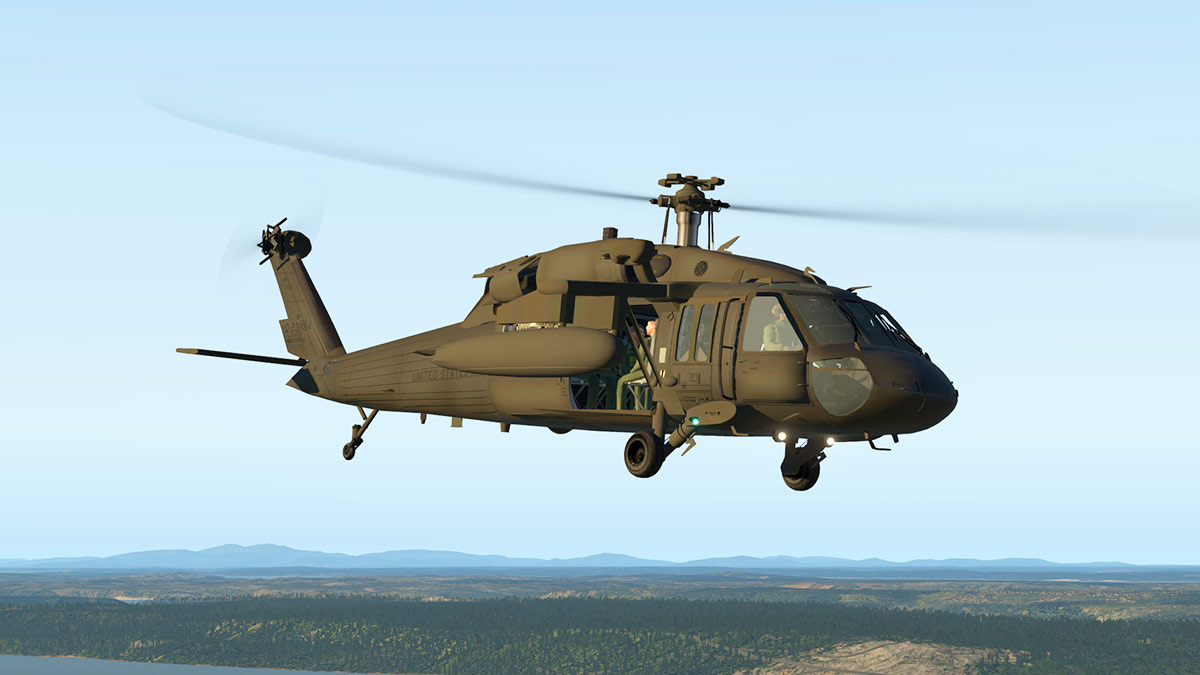 Update Review : Sikorski UH-60 Blackhawk v2 0 by BFDG - Helicopter