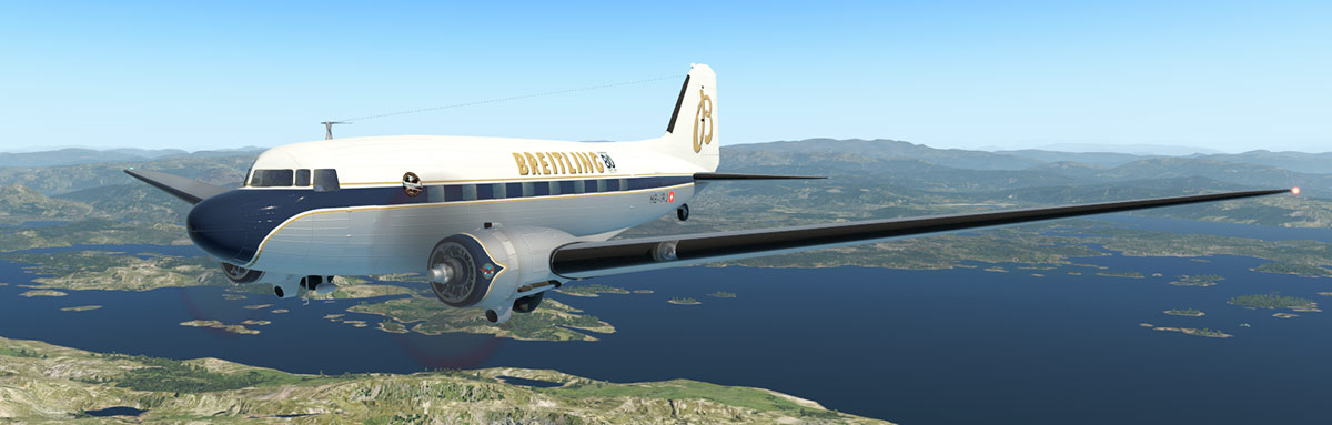 Aircraft Update Review - DC-3/C47 v2 1 by VSkyLabs Flying