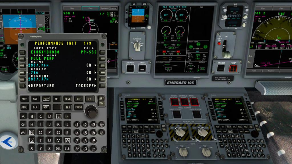 Aircraft Review : Embraer E-195LR by SSG - Airliners Reviews - X