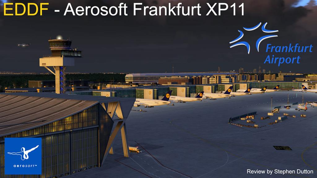 Scenery Review : EDDF - Aerosoft Airport Frankfurt XP11