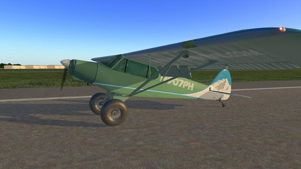 Aircraft Review : Piper PA-18 SuperCub by ASDG - Classic Aircraft
