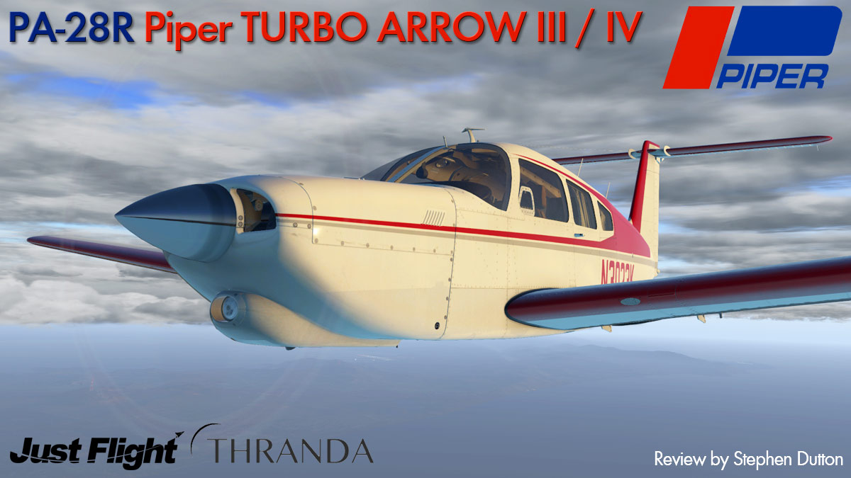 JF_PA28_Turbo Arrow_Header.jpg. Aircraft Review : PA28R Piper ...